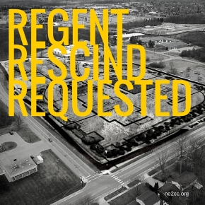 Regental Action Request Submitted