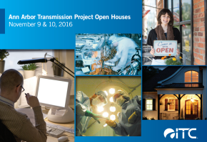 ITC Open House & DTE Substation info